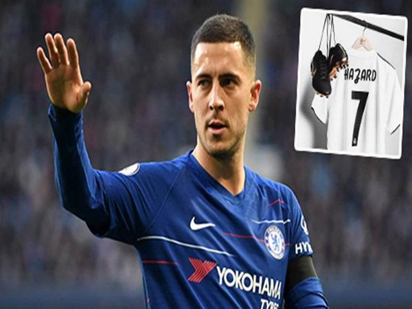 Real sẽ đưa ra đề nghị chính thức với Hazard