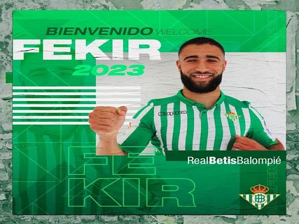 Fekir chính thức gia nhập Real Betis với hợp đồng dị