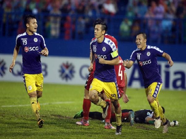 Chung kết AFC Cup lượt đi: Hà Nội FC thắng B.Bình Dương