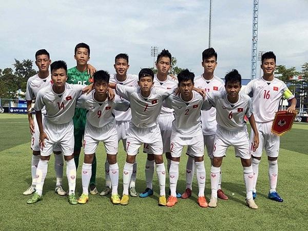 U15 Việt Nam thắng U15 Myanmar tại giải U15 Đông Nam Á 2019