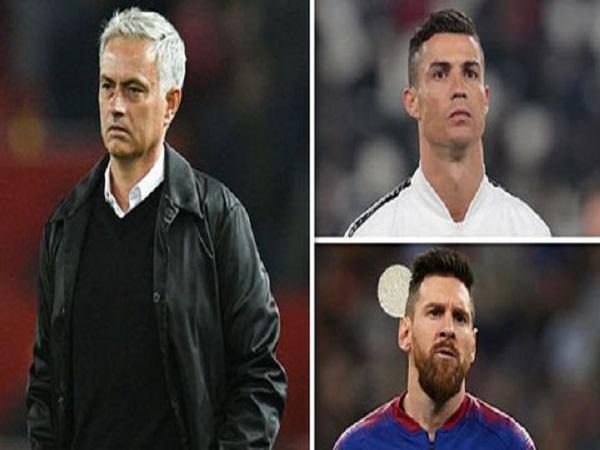 Tin bóng đá tối 12/9: Mourinho khép tranh cãi về Ronaldo và Messi