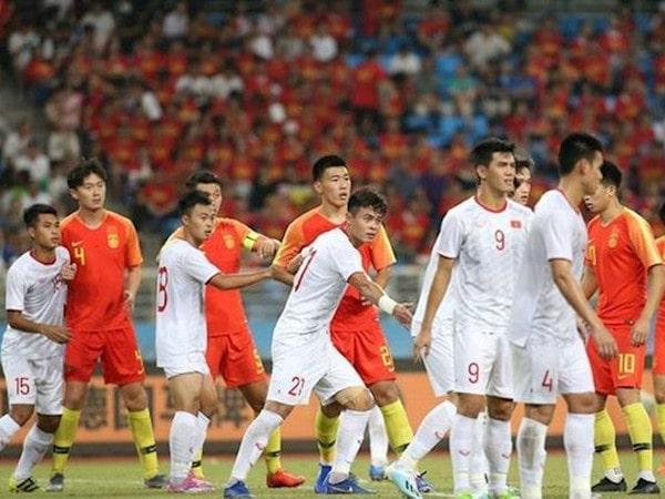 U22 Việt Nam vượt trội hơn hẳn so với U22 Trung Quốc