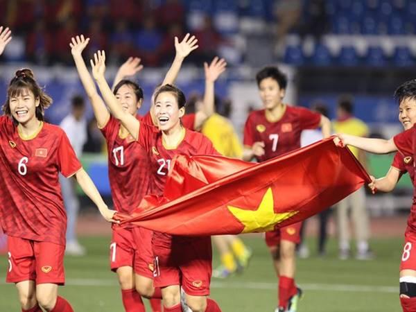 Đội tuyển bóng đá nữ Việt Nam xuất sắc đánh bại Thái Lan giành HCV