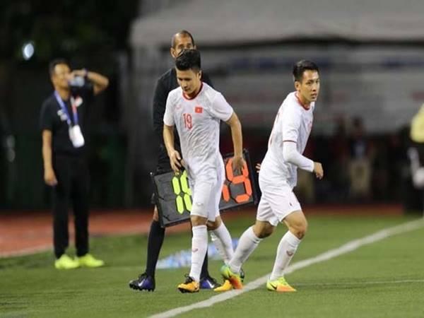 HLV Park Hang-seo tiết lộ Quang Hải có thể đá trận chung kết