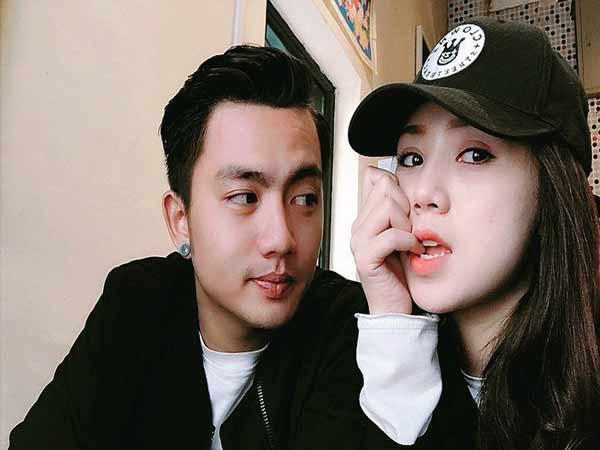 Hiện tại bạn trai của Quỳnh là Nguyễn Đức Hải