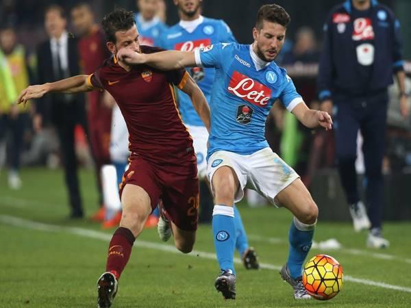 Nhận định bóng đá AS Roma vs Napoli (2h45 ngày 22/3)